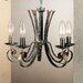 JH Miller Tamel Metal 5 Light Style Chandelier