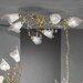 JH Miller Menaggio 6 Light Semi-Flush Ceiling Light