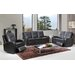 Hyde Line Furniture Sarah Genuine Leather Recliner