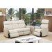 Hyde Line Furniture Padua Genuine Leather 3 Seater Sofa