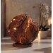 Henke Collection Skulptur Teakkugel