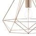 Caracella Geometrische Pendelleuchte 1-flammig Sword