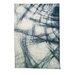 Caracella Teppich Graphic Knistern in Blau