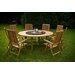Urban Designs Naunton Manor 8 Seater Dining Set with Cushions