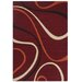 Urban Designs King Red Area Rug
