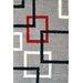 Urban Designs Classic Grey Area Rug