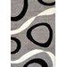 Urban Designs Classic Grey/Black Area Rug