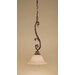 Energo 1 Light Bowl Pendant