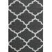 Bakero Elizabeth Hand-Woven Black Area Rug