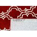 Bakero Riviera Hand-Tufted Red Area Rug