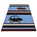 Bakero Cars Blue Area Rug