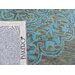 Bakero Kirman Hand-Tufted Light Blue Area Rug