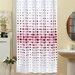 Beytug Textile Dots Shower Curtain