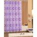 Beytug Textile Rings Shower Curtain