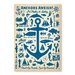 Americanflat Anchor Pattern Print by Anderson Design Group Graphic Art Wrapped on Canvas