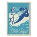 Americanflat Chill Spot Vintage Advertisement Wrapped on Canvas