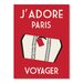 Americanflat J'Adore Paris, Voyage by Alan Walsh Vintage Advertisement