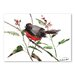Americanflat State Throated Redstart by Suren Nersisyan Art Print