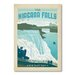 Americanflat National Park Niagra by Anderson Design Group Vintage Advertisement Wrapped on Canvas