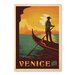 Americanflat Venice by Anderson Design Group Vintage Advertisement Wrapped on Canvas