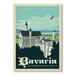 Americanflat Bavaria by Anderson Design Group Vintage Advertisement Wrapped on Canvas