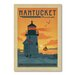 Americanflat Nantucket by Anderson Design Group Vintage Advertisement Wrapped on Canvas