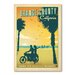 Americanflat Orange County  Vintage Advertisement on Canvas