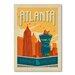 Americanflat Atlanta by Anderson Design Group Vintage Advertisement