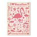 Americanflat Flamingo Vintage Advertisement Wrapped on Canvas