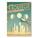 Americanflat Houston by Anderson Design Group Vintage Advertisement