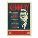 Americanflat Kennedy by Anderson Vintage Advertisement Wrapped on Canvas