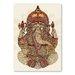 Americanflat Ganesha by Valentina Ramos Graphic Art