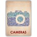 Americanflat Cameras Typography Wrapped on Canvas
