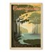 Americanflat Everglades by Anderson Design Group Vintage Advertisement Wrapped on Canvas