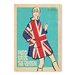 Americanflat Save the Queen by Anderson Vintage Advertisement Wrapped on Canvas
