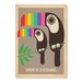 Americanflat Toucan Graphic Art Wrapped on Canvas