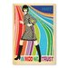 Americanflat Go-Go Dancer by Anderson Design Group Vintage Advertisement Wrapped on Canvas