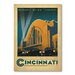Americanflat Cincinnati by Anderson Design Group Vintage Advertisement