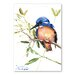 Americanflat Azure Kingfisher by Suren Nersisyan Art Print