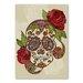 Americanflat Sugar Skull by Valentina Ramos Graphic Art