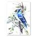 Americanflat Jay by Suren Nersisyan Art Print in Blue