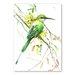 Americanflat Bee Eater by Suren Nersisyan Art Print