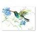 Americanflat Hummingbird with Flowers by Suren Nersisyan Art Print