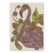 Americanflat Royal Flamingo by Valentina Ramos Graphic Art Wrapped on Canvas
