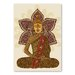 Americanflat Sitting Buddha by Valentina Ramos Graphic Art Wrapped on Canvas