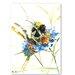 Americanflat Flower Bee by Suren Nersisyan Art Print