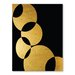 Americanflat Orbital Graphic Art Wrapped on Canvas