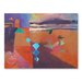 Americanflat The Road to Ouarzazate Art Print Wrapped on Canvas