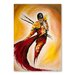 Americanflat Matador Art Print Wrapped on Canvas