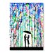 Americanflat Pour Deux Art Print Wrapped on Canvas